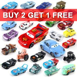 All Mattel Pixar Lot Choose McQueen Toy Disney 1:55 Diecast Cars Model Lot Loose