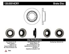 Disc Brake Rotor-Premium Cryo Treated Disc Rear,Front Stoptech 120.83014CRY