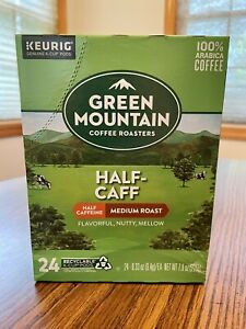 Green Mountain HALF CAFF K-Cups 24 Count!