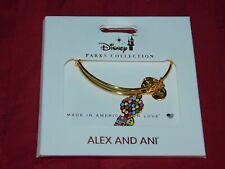 Disney Parks ALEX & ANI bracelet UP Balloon House Gold Tone Bangle  - NEW