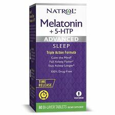 Natrol Sleep Aid Melatonin Tablets Natural Fast Dissolve Sleeping Pills 10mg 60c