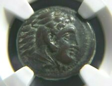 Alexander III The Great, AE Unit 336-323 BC, Lifetime issue  NGC Ch VF 4007