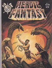 HEROIC FANTASY # 1 COMIC FANZINE ROY KRENKEL PORTFOLIO GOLDEN-AGE REPRINT