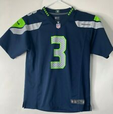 NFL Seattle Seahawks Nike Youth's Size Large On-Field Jersey #3 Wilson