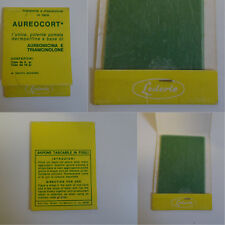 Sapone in fogli Lederle con pubblicità Aurecort