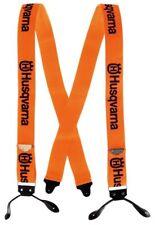 Genuine Husqvarna 505618510 Button Orange Suspenders