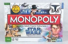 NEW! Monopoly Star Wars Board Game The Clone Wars 6 Collectible Tokens Hasbro