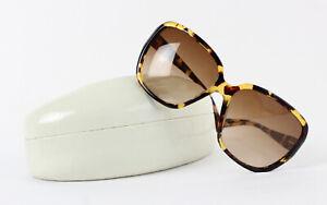 Coach Multi Brown Plastic Tokyo Tortoise Oversized Square Bella Sunglasses