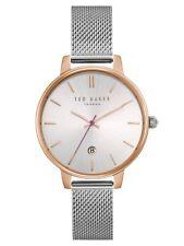Ted Baker Uhr TE15162011 Armbanduhr Uhr Damen Edelstahl silber Mineralglas 39mm