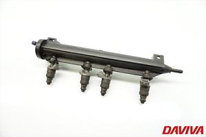 2005 Audi A3 1.6 Petrol Set Of Fuel Injectors +Rail 06A133317AC 06A906031BT