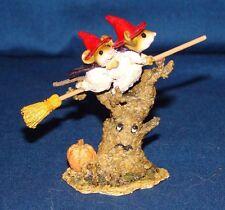 Wee Forest Folk M-324 Night Flight Halloween Figurine w/ Box