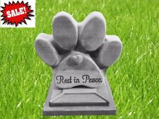 Pet Memorial dog paw Print stepping stone plastic mold concrete Best Seller