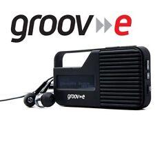 Groov-e Rio Personal Portable Pocket DAB/FM Digital Radio - USB Rechargeable