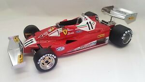 GP Replicas GP14D - Ferrari 312T2 car #11 Niki Lauda 1977 (F1 World Champion)