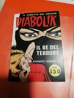 """DIABOLIK N° 1""""IL RE DEL TERRORE"""" RISTAMPA ANASTATICA del 1994"""