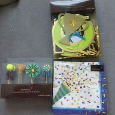 Brand New Papyrus Graduation Party Pack, Banner, Napkins And Picks