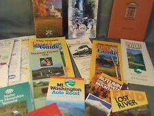 29 New England Vermont Maine New Hamspire maps sights post cards art educational