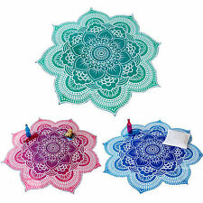Floral Tapestry Wall Hanging Mandala Hippie Bedspread Throw Boho Cover Yoga Mats