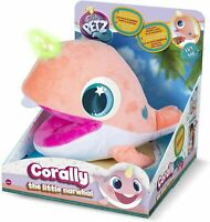 Club Petz Corally Little Baby Narwhal Horn Lights up 10 Sounds Brand New