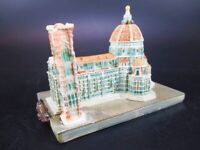 Catedral de Florencia Poli Estar Pie Modelo Souvenir Duomo Firence Italia Nuevo