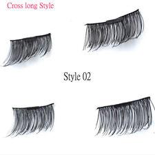 3d 8pcs Magnetic False Eyelashes Eye Lashes/lot Delicate No Glue Lashes Style 01