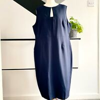 DOROTHY PERKINS Dress Size 20 NAVY | SMART Occasion WEDDING Cruise RACES Office
