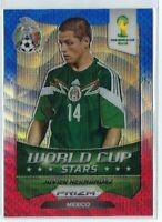 2014 Javier Hernandez Prizm World Cup B/W/R Mexico Soccer Card Manchester United