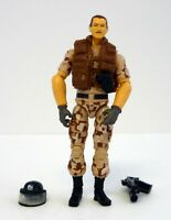GI JOE FOOTLOOSE Rise of Cobra Action Figure NEAR COMPLETE C9+ v4 2009
