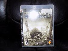 Resistance: Fall of Man (Sony PlayStation 3, 2006) EUC