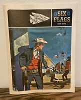 Vintage 1961 Six Flags Over Texas Amusement Park Full Color Brochure Ad Book