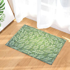 Eucalyptus Tree Branches and Leaves Bedroom Shower Rug Bath Mat Floor Carpet