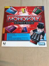 2011 Monopoly Electronic Banking Board Game Instruction Manual Replacement Part