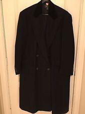 Ralph Lauren RRL DOUBLE RL Men's Black Wool Heavy Top Coat