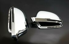 Für Audi A8 S8 4E Chrom Spiegel Abdeckung Spiegel Kappe Gehäuse Außenspiegel-