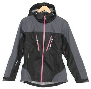 REVOLUTION RACE RVRC WP+ Waterproof Hooded Jacket Women Size M / 38 MJ2642