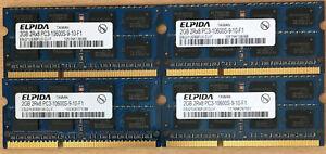 Apple Elpida 4X2GB (8GB) 2Rx8 PC3-10600S-9-10 1333MHz Memory EBJ21UE8BFU0-DJ-F