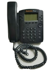 Polycom Ring Central 2201-46161-001 Black Corded HD Voice Home Office Telephone