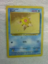 Carte pokémon stari 65/102 commune set de base wizard carte endommagé