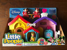 Fisher Price Mickey Mouse Clubhouse Mickey Pluto et construction travailleur Playset