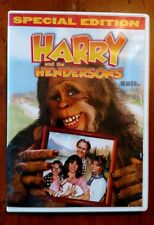 Harry And The Hendersons Special Edition Dvd Bigfoot Sasquatch
