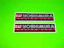 KX KXF CR CRF YZ YZF RM RMZ 85 125 250 450 YOSHIMURA EXHAUST RACING USA STICKERS