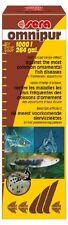 sera omnipur S 50 ml mit Breitbandwirkung gegen die häufigsten Fischkrankheiten