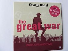 THE GREAT WAR PARTS ONE & TWO PROMO DVD FROM THE BBC