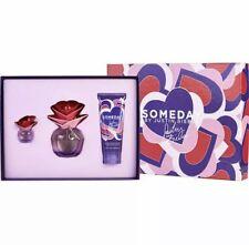 Someday Justin Bieber 3 Piece Gift Set 3.4 oz EDP Spray + .25 oz P + 3.4 oz B/L