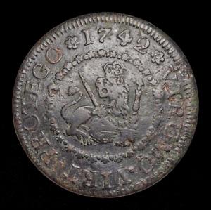 SPAIN. Philip V, 4 Maravedis, 1742