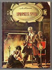 manzoni I PROMESSI SPOSI malipiero 1964 i grandi romanzieri copertina di MAGNUS