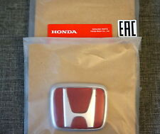 JDM Honda Civic EK Type-R Red Front Grille Badge Emblem OEM Genuine TypeR Type R