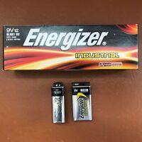 Energizer 9V PP3 Industrial Alkaline Batteries Smoke Alarm LR22 MN1604
