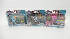 3 Sets My Little Pony - Rainbow Dash - Shining Armor - Pinkie Pie - NEW