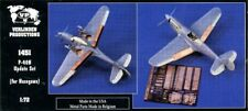 Verlinden Productions 1:72 P-40N Sudate Set for Hasegawa Kit - Resin PE #1451